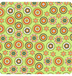 flower nice pattern vector image