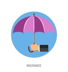 Insurance Flat Icon vector image