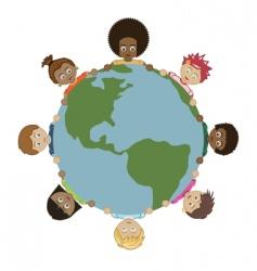 kids world vector image