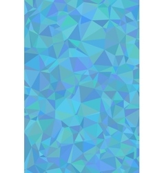 Shades of cyan abstract polygonal geometric vector