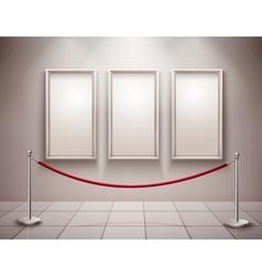 Pictures exhibition vector