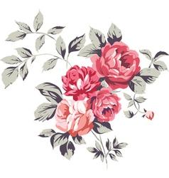Vintage Pink Roses vector image
