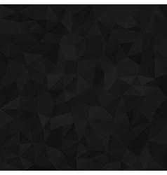 Geometric black background vector image
