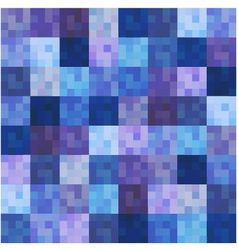 seamless square grid pattern vector image vector image