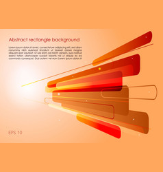 abstract red and orange background with vector image