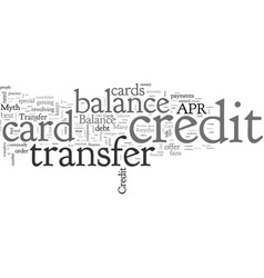 Balance transfer credit card facts and myths vector