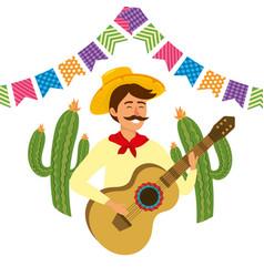 Festa junina cartoon vector