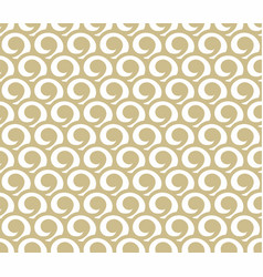 gold abstract pattern vector image