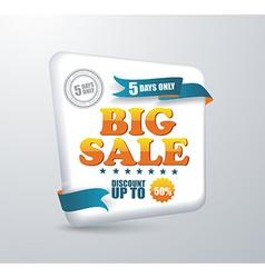 Sale banner Shopping vector