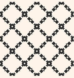 seamless ornament pattern with diagonal chains vector image