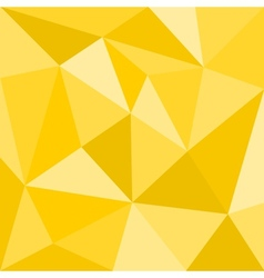Triangle yellow background seamless sunny pattern vector image