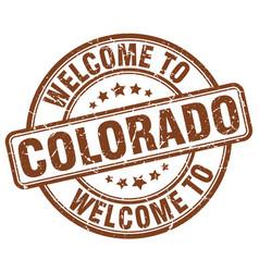 Welcome to colorado vector