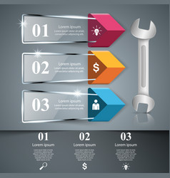wrench screwdriver repair icon business vector image