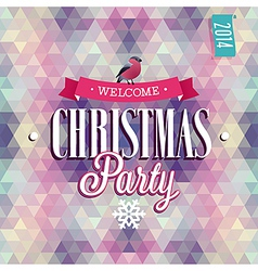 christmas party vector image vector image