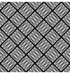 Design seamless monochrome diamond pattern vector image vector image