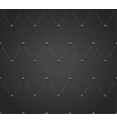 Abstract black rhombus seamless pattern vector image
