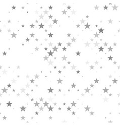 Abstract pentagram star pattern background vector
