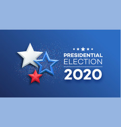 American presidential election 2020 background vector
