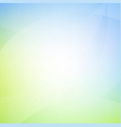 Blue and green background with line vector