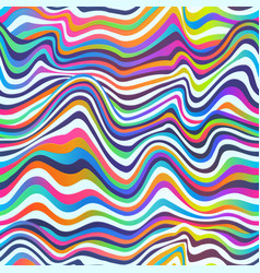 colored seamless lines vector image