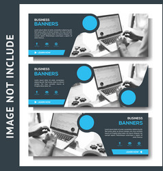 corporate business banner multipurpose template vector image