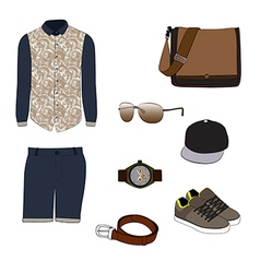 costume for men vector image