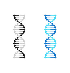 Dna icon chromosome genetics gene molecule vector