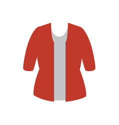 female clothes isolated icon vector image
