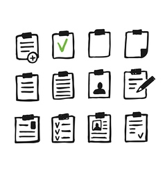 File an icon3 vector image