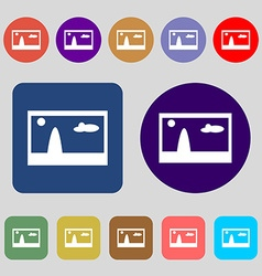 File JPG sign icon Download image file symbol 12 vector