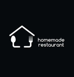 Homemade restaurant vector