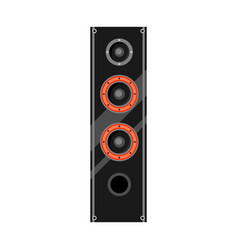 icon sound system speaker vector image