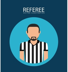 Referee icon vector