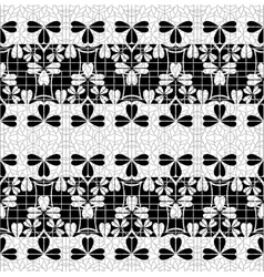 Seamless pattern persian antique ornament vector