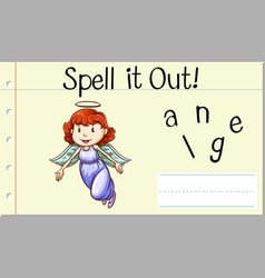 Spell it out angle vector