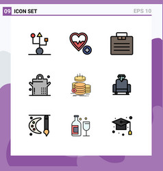 Universal icon symbols group 9 modern vector