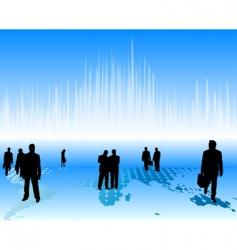 worldwide business vector image vector image