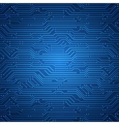 technology microchip background vector image