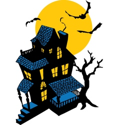 HauntedHouse vector image vector image