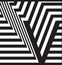 letter v design template vector image