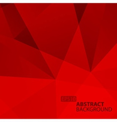 Abstract Geometric Red Background vector