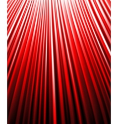 background of red luminous rays vector image