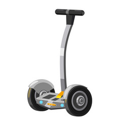 Electric scooter icon cartoon style vector