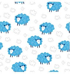 fairytale cute seamless pattern vector image