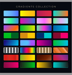 gradient collection vector image