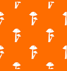 honey fungus pattern seamless vector image