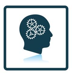 Icon brainstorm vector