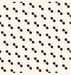 minimalist pattern with small ovate shapes vector image