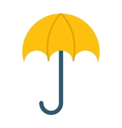 opened umbrella isolated on vector image