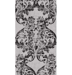 vintage baroque ornament pattern victorian vector image